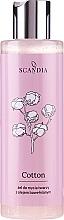 Düfte, Parfümerie und Kosmetik Gesichtsgel mit Baumwollsamenöl - Scandia Cosmetics Cotton Gel