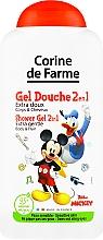 Düfte, Parfümerie und Kosmetik 2in1 Duschgel und Shampoo für Kinder - Corine De Farme Mickey