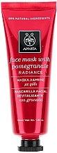 Revitalisierende und strahlende Gesichtsmaske mit Granatapfel - Apivita Revitalizing and Radiance Mask — Bild N1