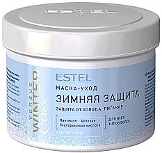 Düfte, Parfümerie und Kosmetik Feuchtigkeitsspendende Haarmaske - Estel Professional Versus Winter Curex