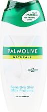 """Düfte, Parfümerie und Kosmetik Duschmilch """" Macadamia und Kakao"""" - Palmolive Naturals Mild & Sensitive Shower Milk"""