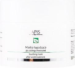 Düfte, Parfümerie und Kosmetik Beruhigende Gesichtsmaske nach Säurebehandlung - APIS Professional Exfoliation Soothing Mask After Acid Treatment