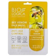 Düfte, Parfümerie und Kosmetik Anti-Aging Tuchmaske für das Gesicht mit Bienengift - Biologica Bee Venom