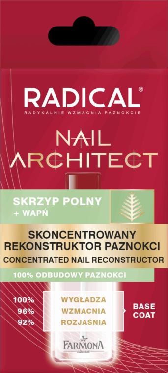 Nagelhärter für geschädigte und geschwächte Nägel - Farmona Radical Nail Architect