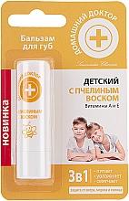 Düfte, Parfümerie und Kosmetik Lippenbalsam für Kinder mit Bienenwachs und Vitaminen A und E - Hausarzt