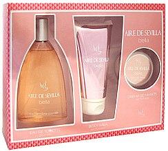 Düfte, Parfümerie und Kosmetik Instituto Espanol Aire de Sevilla Bella - Duftset (Eau de Toilette 150ml + Körpermilch 150ml + Handcreme 50ml)