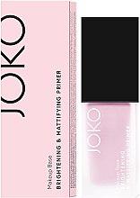 Düfte, Parfümerie und Kosmetik Aufhellender und mattierender Gesichtsprimer - Joko Brightening & Mattifying Primer