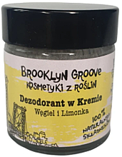 Düfte, Parfümerie und Kosmetik Natürliche Deo-Creme Limetten- und Orangenduft - Brooklyn Groove Deodorant Cream