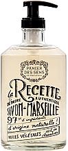 Düfte, Parfümerie und Kosmetik Marseiller Flüssigseife mit Lavendel Glasflasche - Panier des Sens Liquid Marseille Soap