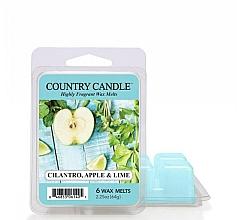 Düfte, Parfümerie und Kosmetik Duftwachs Cilantro, Apple & Lime - Country Candle Cilantro, Apple & Lime Wax Melts