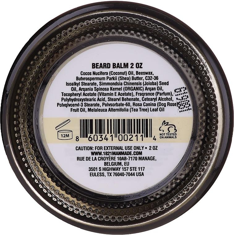 Aufweichender Bartbalsam mit Vanilleduft - 18.21 Man Made Beard Balm Spiced Vanilla — Bild N2