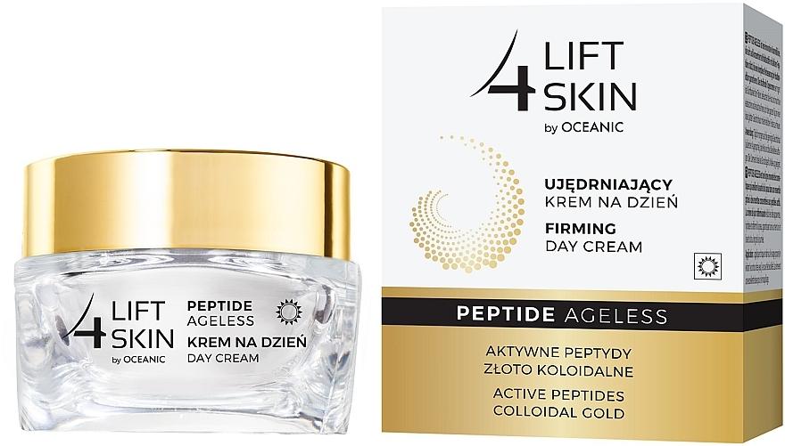 Straffende Tagescreme für das Gesicht mit aktiven Peptiden und kolloidalem Gold - Lift4Skin Peptide Ageless Day Cream