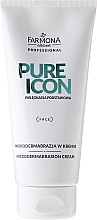 Düfte, Parfümerie und Kosmetik Mikrodermabrasion-Peelingcreme für das Gesicht - Farmona Professional Pure Icon Microdermabrasion Cream