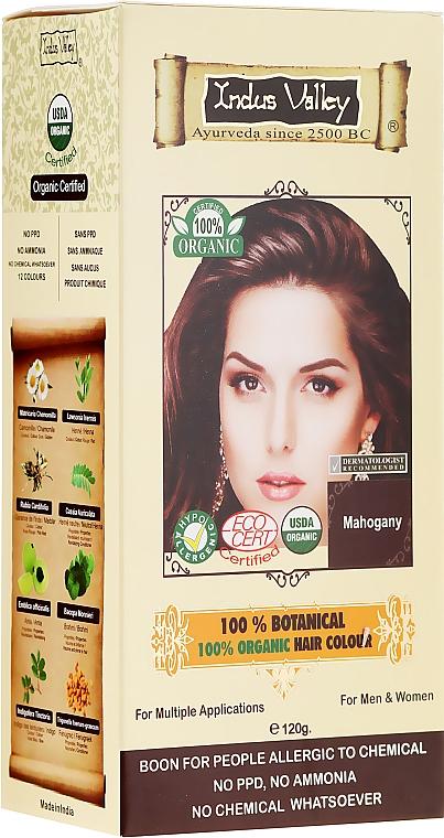 100% Haarfarbe aus 8 zertifizierten Bio-Kräutern - Indus Valley 100% Botanical Hair Colour