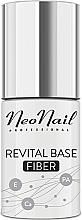 Düfte, Parfümerie und Kosmetik Nagelverstärkungsbasis mit Nylonfasern - NeoNail Professional Revital Base Fiber