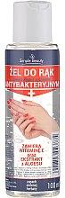 Düfte, Parfümerie und Kosmetik Antibakterielles Handgel mit Vitamin E und Aloe Vera - Simple Beauty Antibacterial Hand Gel