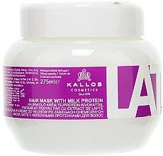 Düfte, Parfümerie und Kosmetik Jasmine Maske für erschöpftes Haar - Kallos Cosmetics Latte With Milk Protein Mask