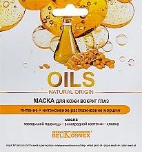 Düfte, Parfümerie und Kosmetik Pflegende Maske für die Haut rund um die Augen mit Weizenkeimen - BelKosmex Oils Natural Origin