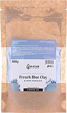 Düfte, Parfümerie und Kosmetik Gesichtsmaske mit blauer Tonerde - Natur Planet French Blue Clay