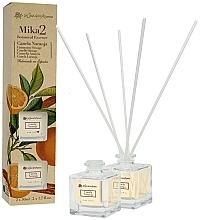 Düfte, Parfümerie und Kosmetik Duftset Zimt und Orange - Flor De Mayo Mikado (Raumerfrischer 2x 50ml)