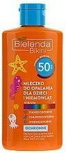 Düfte, Parfümerie und Kosmetik Sonnenschutzmilch für Kinder SPF50 - Bielenda Bikini Protecting Suntan Milk For Children