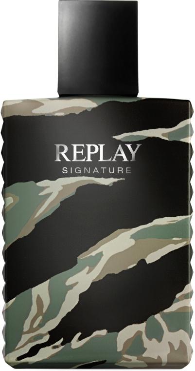 Replay Signature For Men Replay - Eau de Toilette