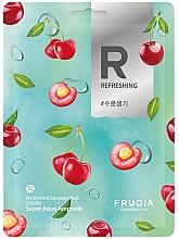 Düfte, Parfümerie und Kosmetik Erfrischende Gesichtsmaske mit Kirsche - Frudia My Orchard Squeeze Mask Cherry