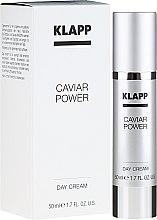 Düfte, Parfümerie und Kosmetik Festigende und schützende Tagescreme mit Kaviar - Klapp Caviar Power Day Cream