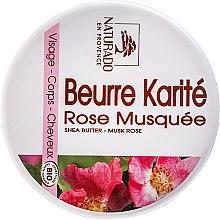 Düfte, Parfümerie und Kosmetik Gesicht- und Körperbutter mit Shea und Rose - Naturado Musk Rose & Shea Butter