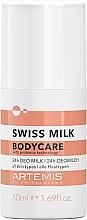 Düfte, Parfümerie und Kosmetik Deodorant mit Probiotika - Artemis Swiss Milk 24h Deo Milk