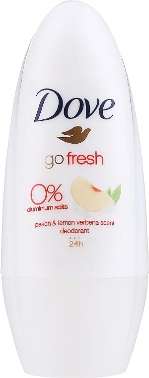 Deo Roll-on Antitranspirant - Dove Go Fresh Peach & Lemon Verbena