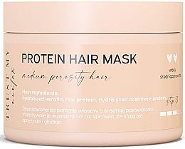 Düfte, Parfümerie und Kosmetik Haarmaske mit Proteinen für mittelporöses Haar - Trust My Sister Medium Porosity Hair Protein Mask
