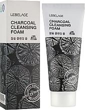 Düfte, Parfümerie und Kosmetik Gesichtsreinigungsschaum mit Aktivkohle - Lebelage Charcoal Cleansing Foam
