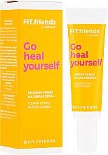 Düfte, Parfümerie und Kosmetik Gesichtscreme gegen Irritationen mit Zinkoxid und Jojobaöl - AA Fit.Friends Go Heal Yourself Ekspert Cream