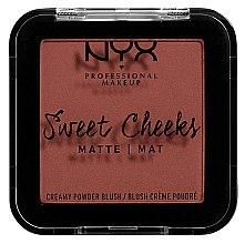 Düfte, Parfümerie und Kosmetik Mattierendes Rouge - NYX Professional Makeup Sweet Cheeks Matte Blush