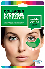 Düfte, Parfümerie und Kosmetik Feuchtigkeitsspendende Augenpatches mit Kollagen, Gurken- & Algenextrakt - Beauty Face Cucumber & Algae Hydrating & Whitening Collagen Eye Patch