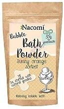 Düfte, Parfümerie und Kosmetik Badepuder mit Orangensorbet Duft - Nacomi Sunny Orange Sorbet Bath Powder