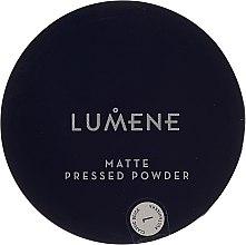 Düfte, Parfümerie und Kosmetik Mattierender gepresster Gesichtspuder - Lumene Matte Pressed Powder