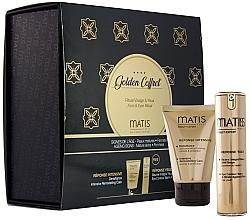 Düfte, Parfümerie und Kosmetik Gesichtspflegeset - Matis Golden Coffrete Densifiance (Gesichtscreme 50ml + Augenbalsam 15ml)
