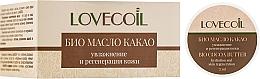 Düfte, Parfümerie und Kosmetik Regenerierende Bio-Kakaobutter - ECO Laboratorie Lovecoil Bio Cocao Seed Butter