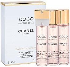 Düfte, Parfümerie und Kosmetik Chanel Coco Mademoiselle - Eau de Parfum (3x20ml Refill)
