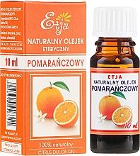 Düfte, Parfümerie und Kosmetik Natürliches ätherisches Orangenöl - Etja Natural Citrus Dulcis Oil