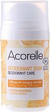 Düfte, Parfümerie und Kosmetik Deodorant - Acorelle Deodorant Care Limone & Moringa