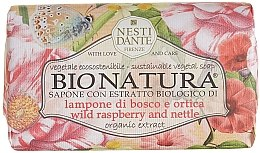 Düfte, Parfümerie und Kosmetik Naturseife Wild Raspberry & Nettle - Nesti Dante Vegetable Soap Bio Natura Collection