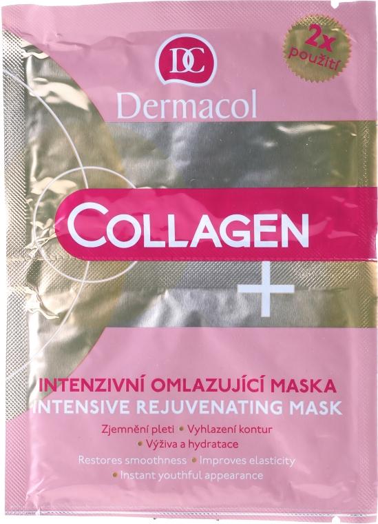 Intensive Anti-Aging-Gesichtsmaske - Dermacol Collagen+ Intensive Rejuvenating Mask