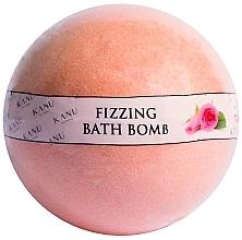 Düfte, Parfümerie und Kosmetik Sprudelnde Badebombe mit Rosenduft - Kanu Nature Fizzing Bath Bomb Rose