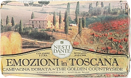 Düfte, Parfümerie und Kosmetik Naturseife The Golden Countryside - Nesti Dante Natural Soap Emozioni in Toscana Collection