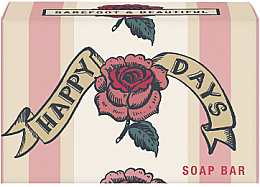 Düfte, Parfümerie und Kosmetik Natürliche Seife Happy Days mit Wildrosenduft - Bath House Happy Days Hand Soap