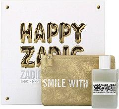 Düfte, Parfümerie und Kosmetik Zadig & Voltaire This is Her - Duftset (Eau de Parfum 50ml + Kosmetiktasche)