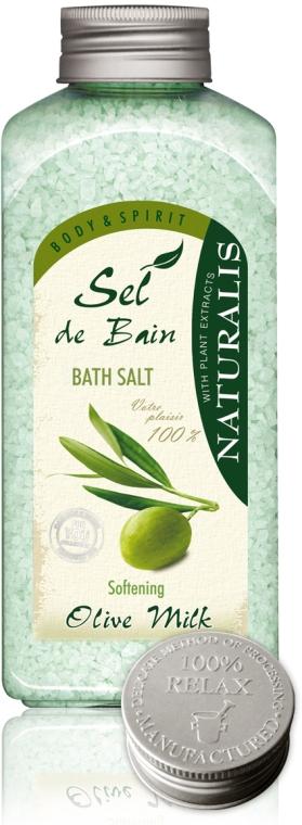 Badesalz mit Olivenmilch - Naturalis Sel de Bain Olive Milk Bath Salt — Bild N1